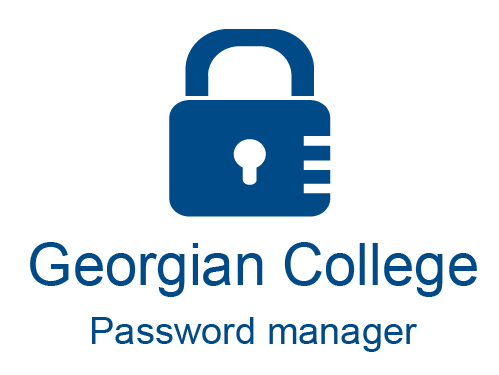 log into Georgian College password manager