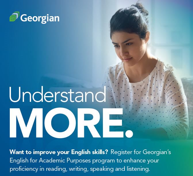 Understand more and improve your English skills with Georgian's English for Academic Purposes program