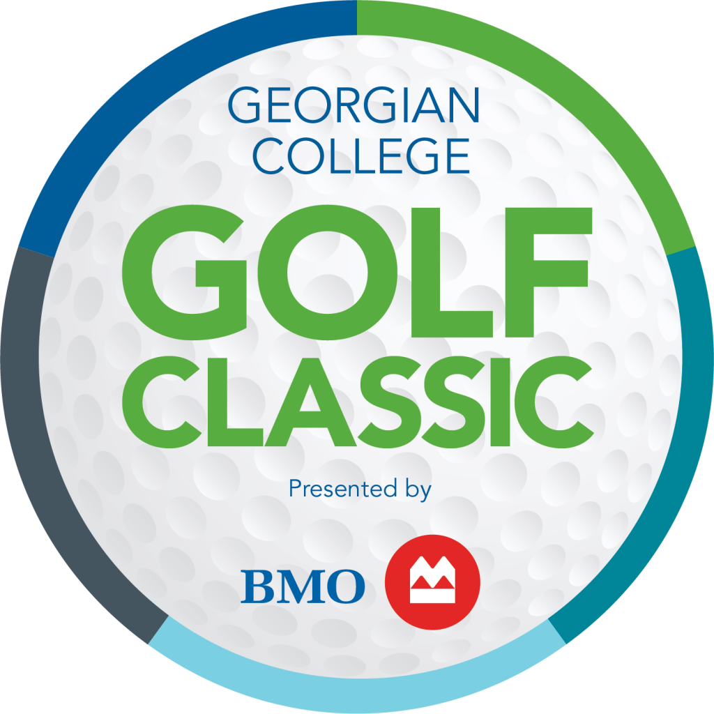 Georgian College Golf Classic Presented by BMO in golf ball graphic