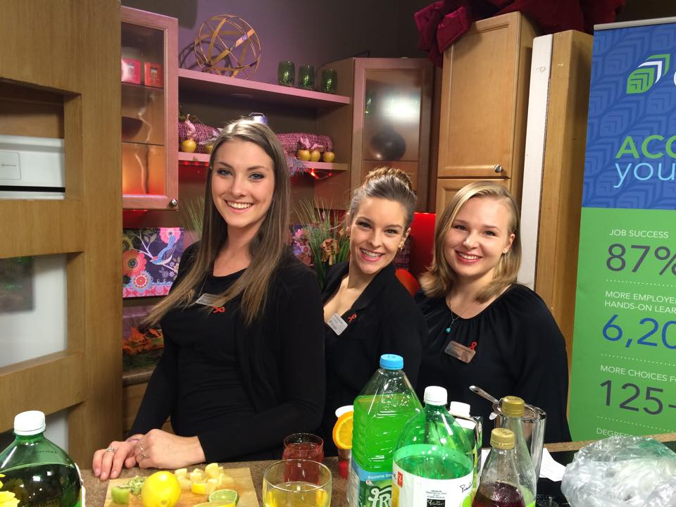 Some of the students involved in Mocktail MADDness were on Rogers 10