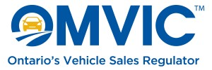 OMVIC Ontario's Vehicle Sales Registrar Regulator logo