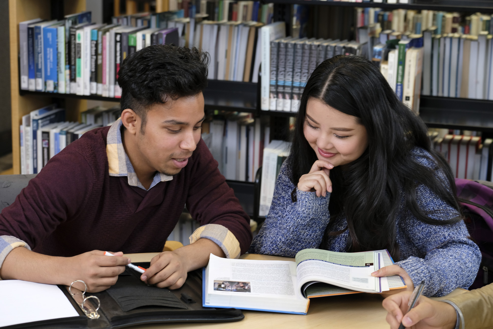 International Students in the Library