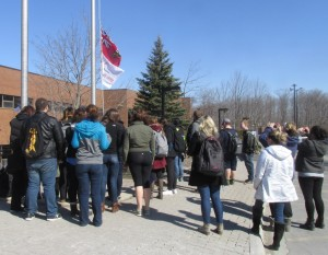 DSW Students Raising the Flag for Autism Awareness
