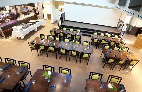 The Last Class dining area