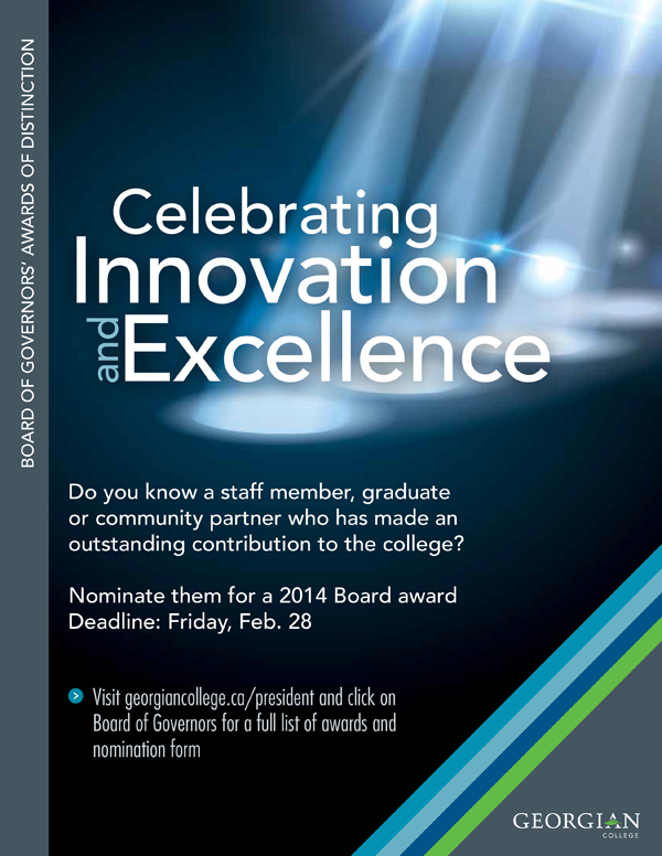 Board of Governors' Awards of Distinction