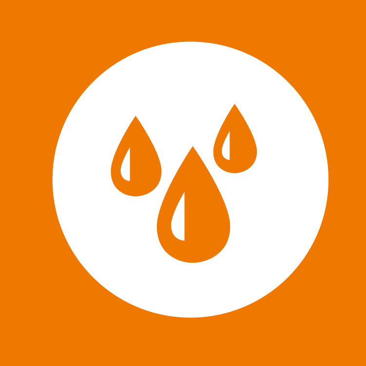 Activist changemaking pathway; icon of water droplets